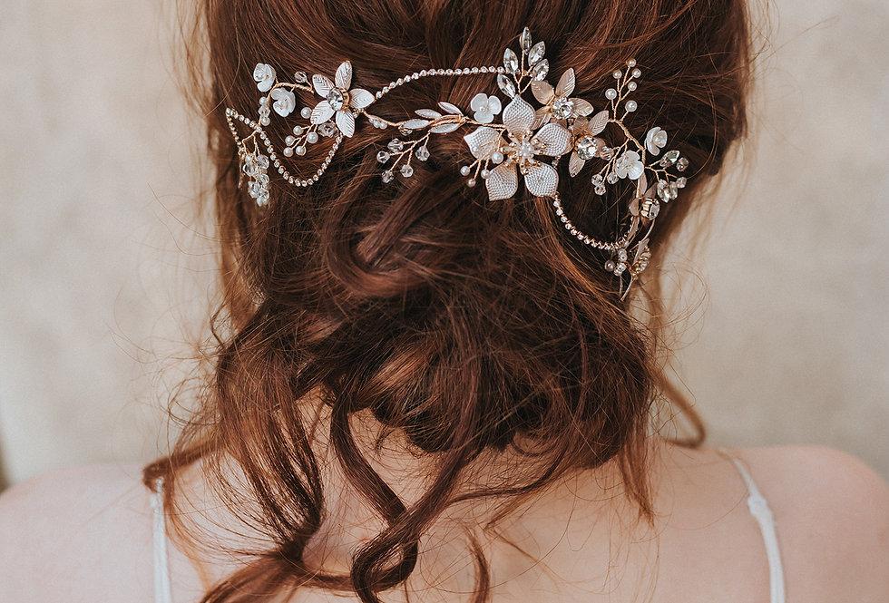 """""""Analisa"""" Bridal Hair Vine"""