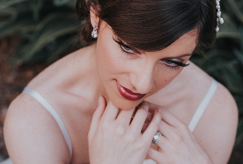"""Jessica"" Bridal Hair Vine Headband"