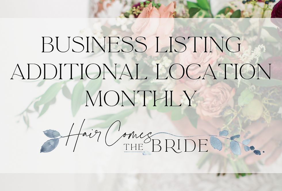 Business Listing - Additional Location (Monthly)