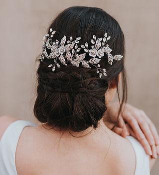 Constance Rhinestone Beaded Bridal Hair