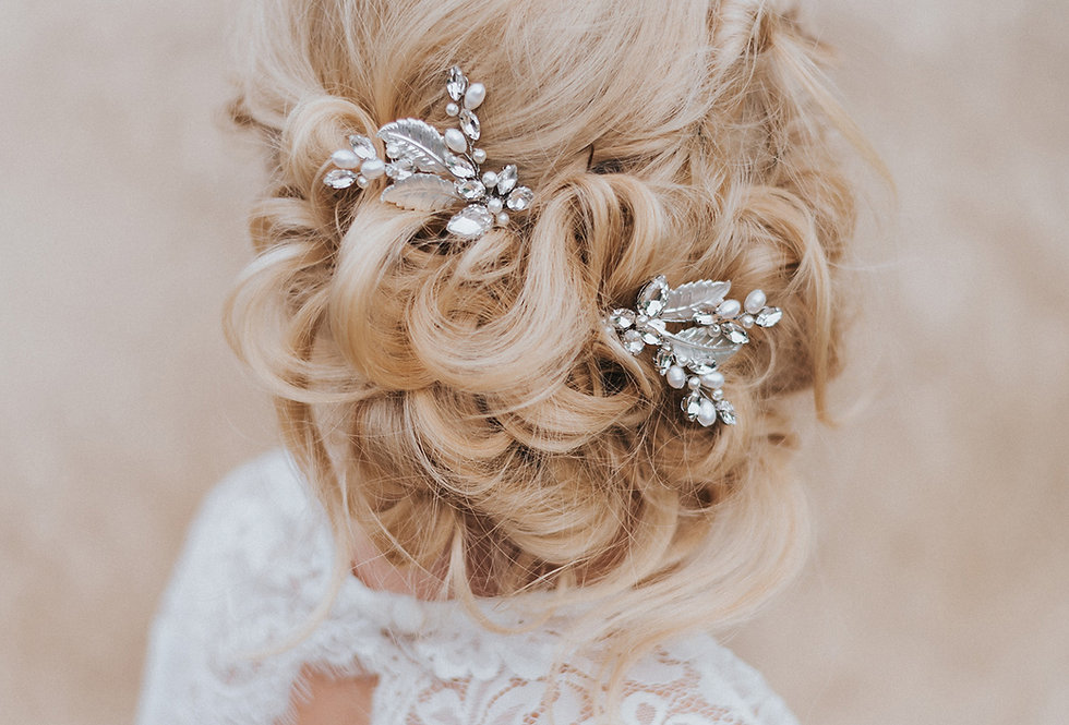 """Bailey"" Bridal Hair Pin"