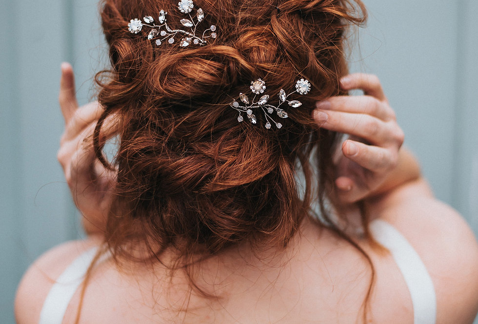 """Delilah"" Bridal Hair Pin"