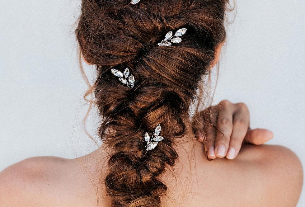 """April"" Bridal Hair Pin"