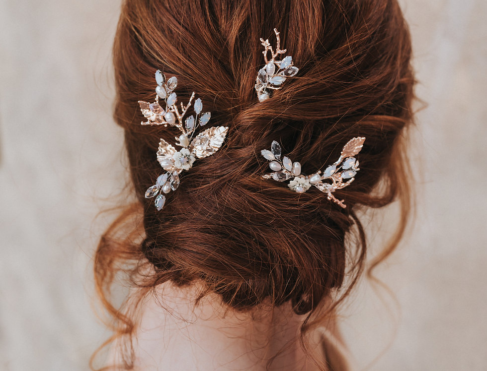 """""""Arya"""" Hair Pin Set"""