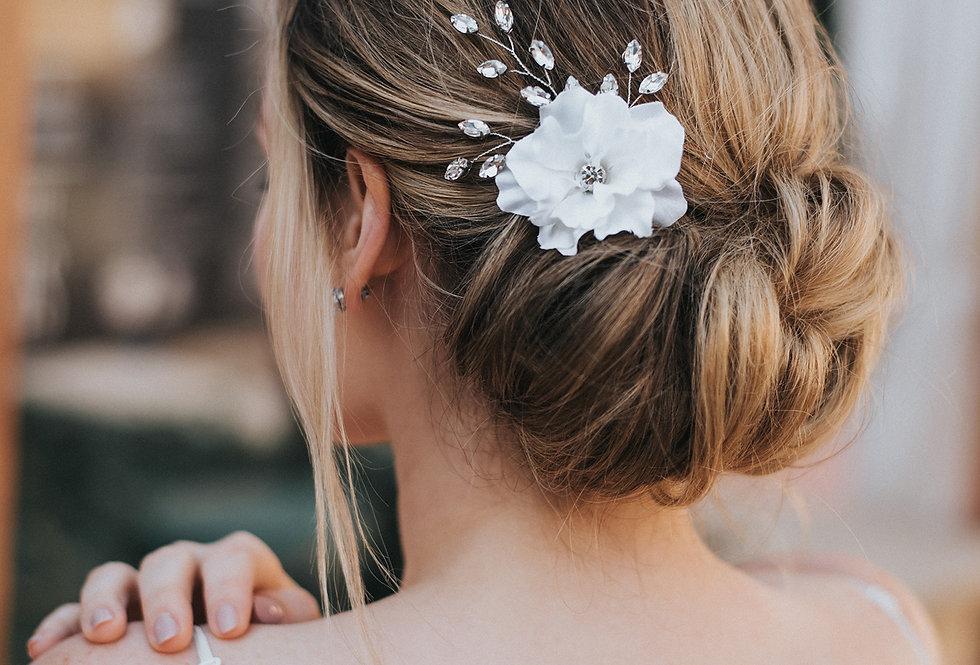 """""""Raelynn"""" Bridal Hair Flower"""