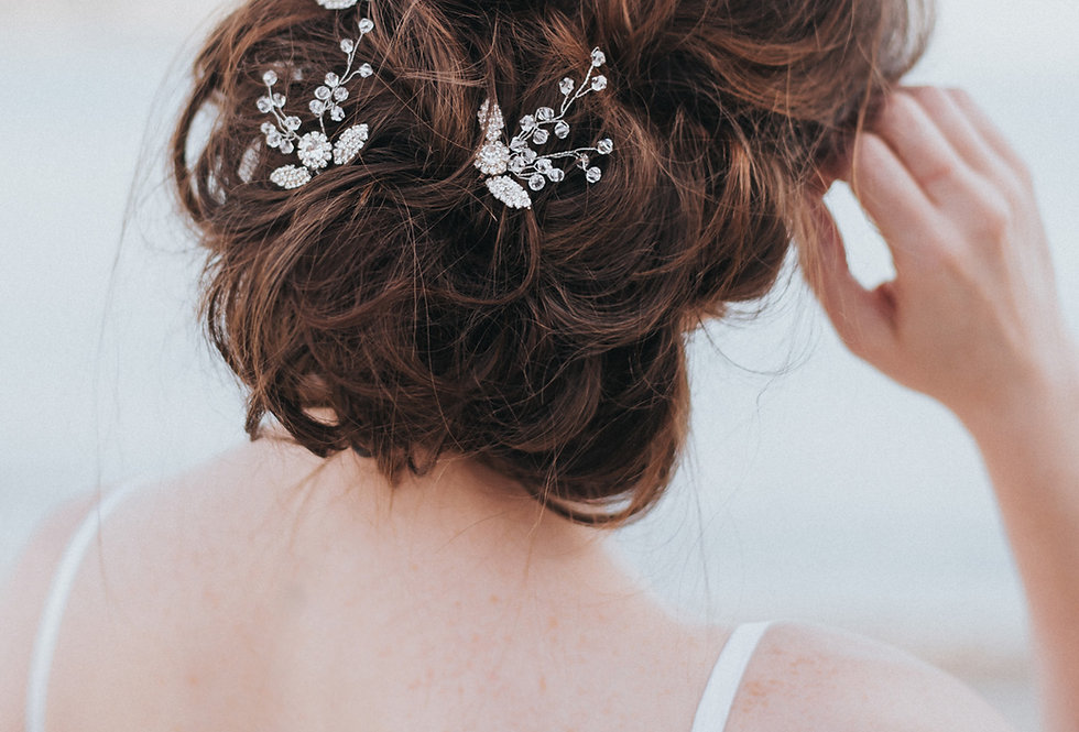 """Charlize"" Bridal Hair Pin"