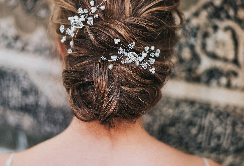 """""""Deanna"""" Bridal Hair Pin"""