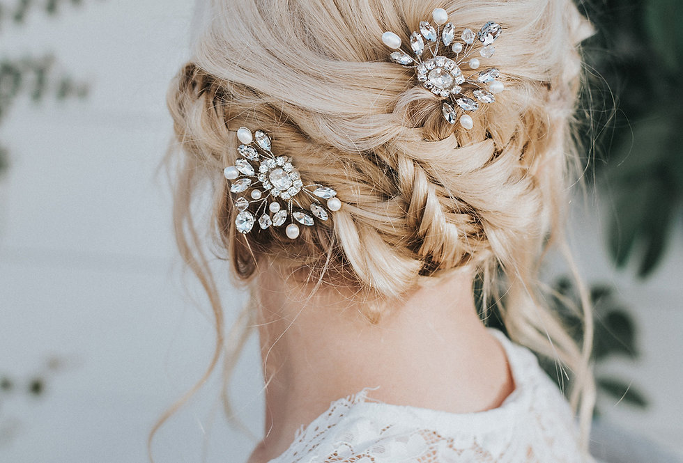 """Collette"" Bridal Hair Pin"