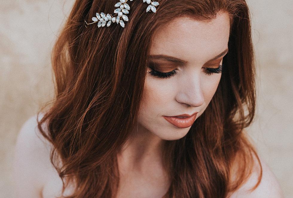 """""""Genevieve"""" Hair Vine Headpiece"""