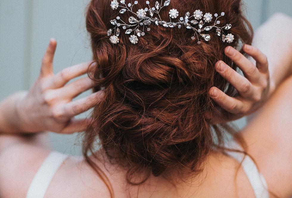 """Delilah"" Large Bridal Hair Comb"