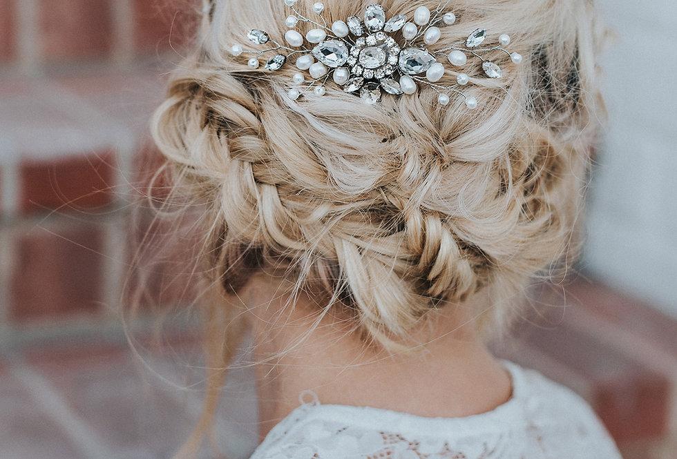 """""""Carmen"""" Small Bridal Hair Comb"""