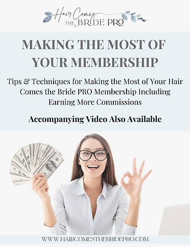Making the Most of Your Membership - Cov