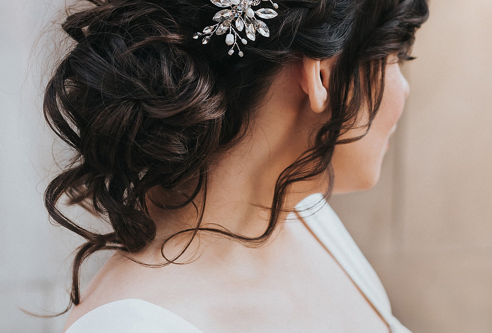 """Dakota"" Bridal Hair Comb"
