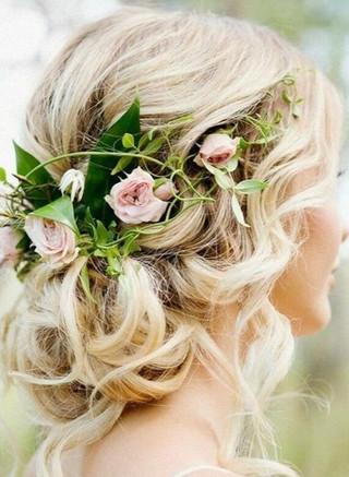 Romantic Hair Comes The Bride