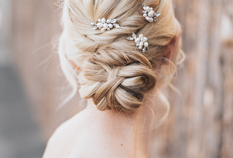 """Lela"" Bridal Hair Pin"