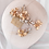 "Thumbnail: ""Lauryn"" Bridal Hair Comb & Pin Set in Gold"