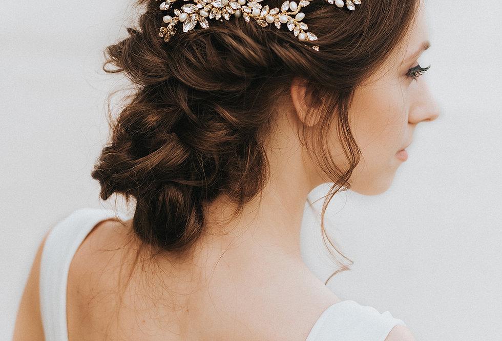 """""""Magnolia"""" Bridal Hair Comb"""