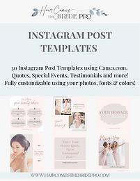 bridal-beauty-instagram-post-templates