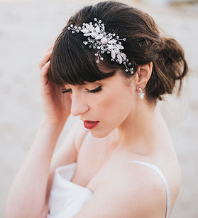 Charlize Large Beaded Bridal Hair Comb 8