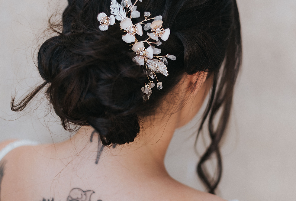 """Alexandra"" Medium Bridal Hair Comb"
