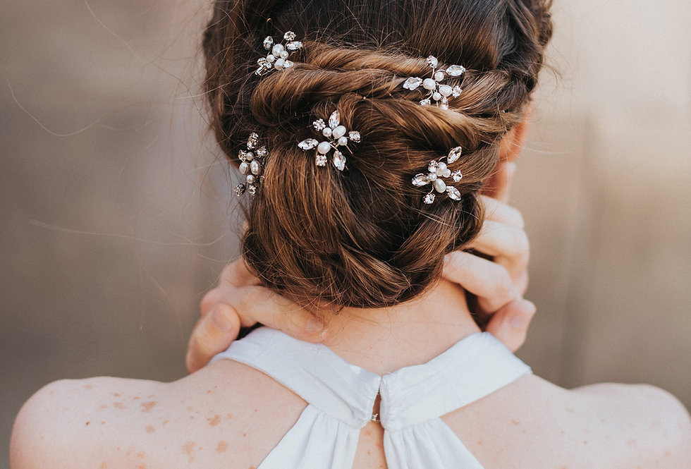 """""""Brooklyn"""" Bridal Hair Pin"""