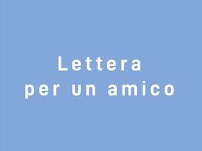 Lettera ad un presidente amico