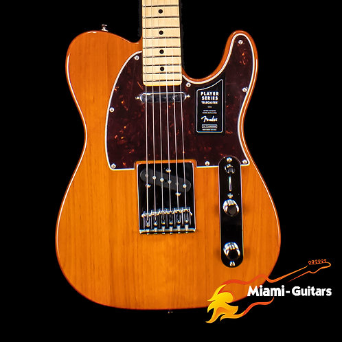 Fender Limited Edition Player Telecaster Transparent Aged Natural (5000)