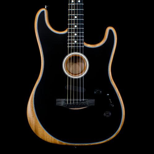Fender Acoustasonic Stratocaster Black 2020 (9289)