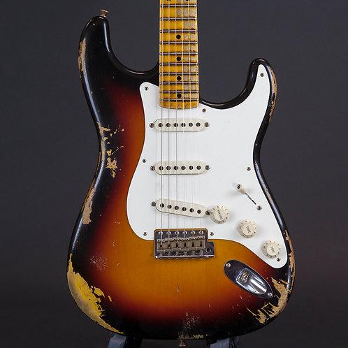 Fender 1957 Stratocaster Heavy Relic 2018  3 Color Sunburst