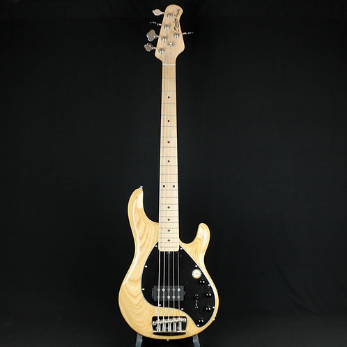 Sterling Ray 35 Natural MN 5-String Bass