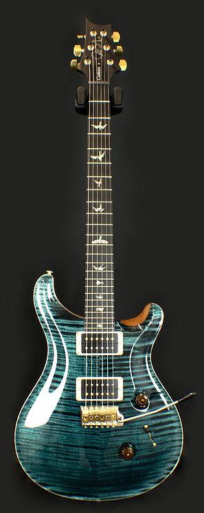 PRS Custom 24 Flamed Artist Package Slate Blue w/ Figured Maple Neck