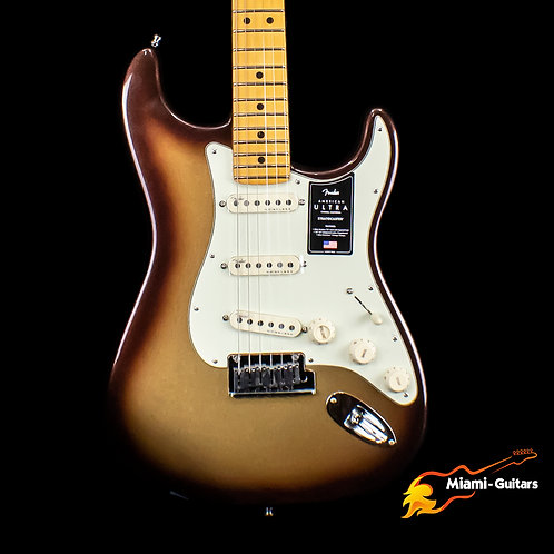 Fender American Ultra Stratocaster - Mocha Burst with Maple Fingerboard