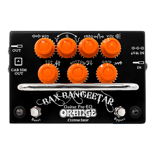Orange Bax Bangeetar Guitar Pre EQ Pedal