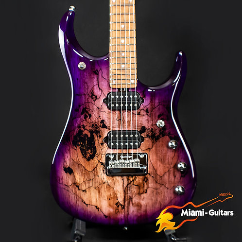 Ernie Ball Music Man Limited Edition JP15 Purple Sunset Spalted BFR 2019 #53/84