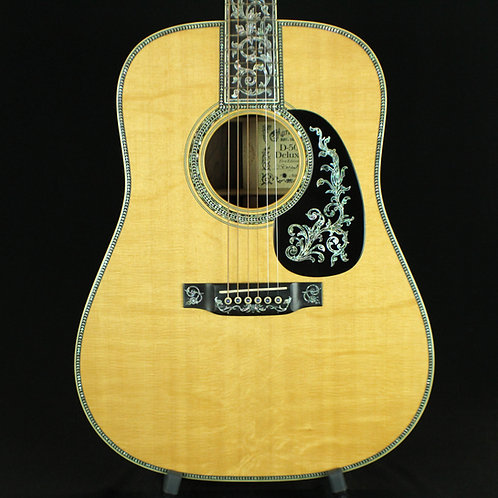 2002 Martin D50 Deluxe Limited Edition of 50, Brazilian RW, Bearclaw Sitka