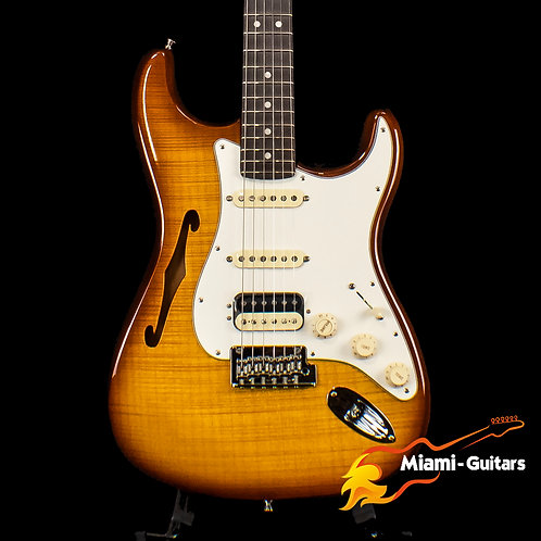 Fender Limited Edition Rarities Series Flame Maple Top Stratocaster HSS Thinline