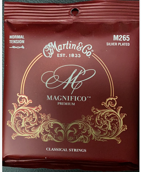 Martin M265 Magnifico Silver Plated Classical Strings, Normal Tension