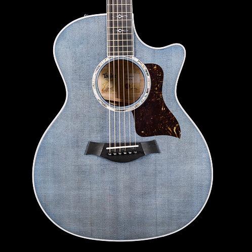 Taylor Custom Shop GA Grand Auditorium Guitar Pacific Blue 2020 (0072)