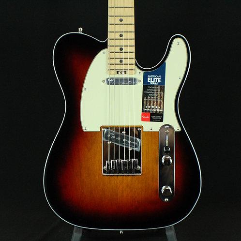 Fender® Elite Telecaster® Maple Neck, 3-Color Sunburst