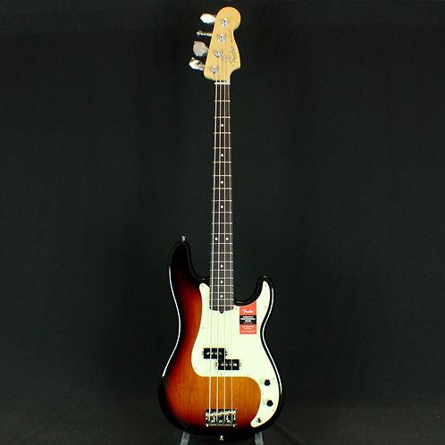 Fender® American Pro Precision Bass® Rosewood, 3-Color Sunburst