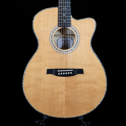 PRS SE Angelus A50E Acoustic-Electric Natural with Black Gold (5435