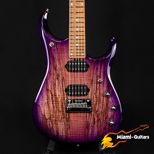 Ernie Ball Music Man Limited Edition JP15 Purple Sunset Spalted BFR 2019 #61/84