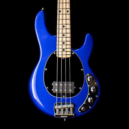 Ernie Ball Music Man StingRay 4 H Short Scale Bass Maple Neck 2019 Ultramarine B