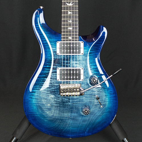 PRS Custom 24 Faded Blue Burst, Purple Back Custom Color