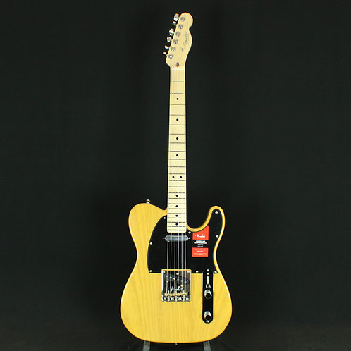 Fender® American Pro Telecaster® Maple Neck, Butterscotch Blonde