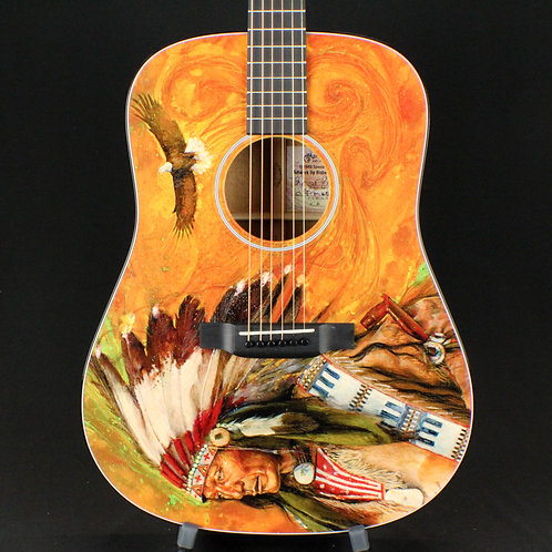 Martin D-18RG Custom Signature Edition Dreadnought with Robert F. Goetzl Art