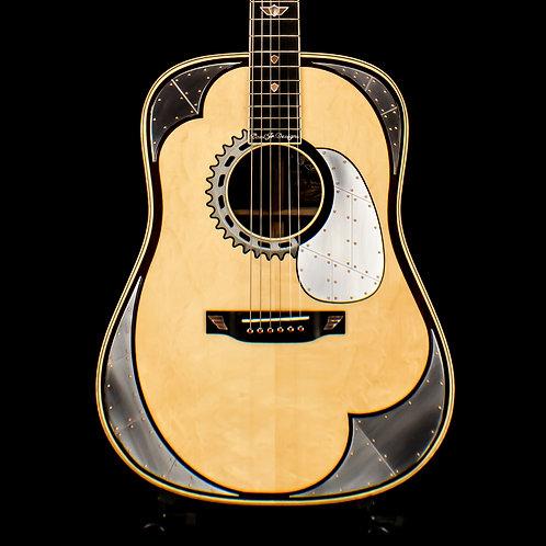 Martin NAMM Show Limited Edition Paul Jr. American Chopper Custom Guitar #4 of 7