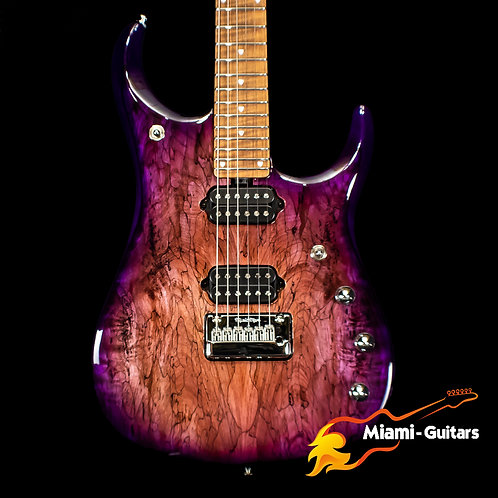 Ernie Ball Music Man Limited Edition JP15 Purple Sunset Spalted BFR 2019 #59/84