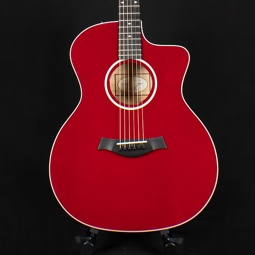 Taylor 214ce Deluxe - Red