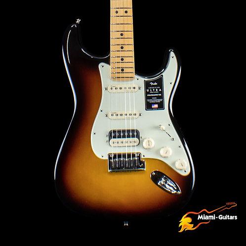 Fender American Ultra Stratocaster HSS - Ultraburst with Maple Fingerboard